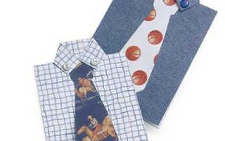 Открытка рубашка подробный мк. Рубашка открытка, делаем открытку в виде рубашки, своими руками. Открытка рубашка с рукавами, воротничком и галстуком — мастер класс