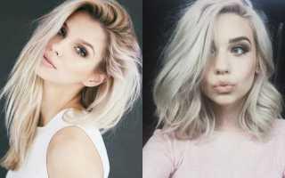Платиновый блонд: кому подходит, варианты оттенков. Цвет волос платиновый блонд — Холодная красота