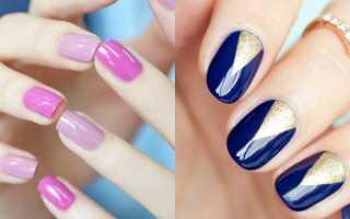 Накрасить ногти темный цвет и белый. Как накрасить ногти двумя цветами. Забавная психология. О чем говорит цвет лака