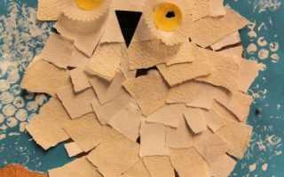 Техника рваной бумаги. Детские аппликации из цветной бумаги своими руками – мастер класс с фото и видео материалами для родителей и детей. Объёмные аппликации из цветной бумаги