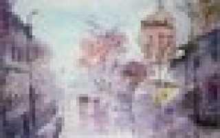 Дождь в живописи известных художников. Сквозь пелену дождя: акварельная живопись Евгения Гавлина
