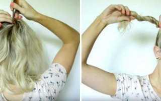 Прическа боковой хвост. Два пучка на голове: модная и быстрая прическа. Традиционный высокий хвост