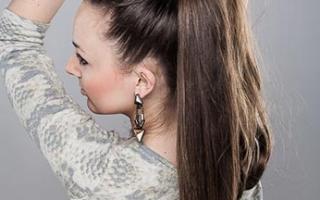 Как сделать шиньон в домашних условиях. Как самой сделать шиньон из натуральных волос. Что такое шиньон и как его изготовить собственноручно. Как крепится шиньон-коса