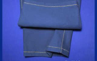 Как подшивать джинсы, чтобы не испортить изделие? Хитрый способ укорачивания джинсов. Подшиваем джинсы с сохранением оригинального шва