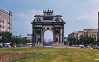 Подготовка к написанию сжатого изложения (8 класс). Триумфальные ворота: как в столице появился символ воинской славы